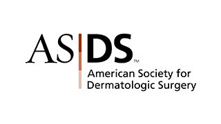 Professional Recognitions Dr. Rahul Shukla at American Society for Dermatologic Surgery Logo