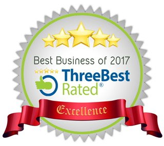 Three Best Rated Certified Badge